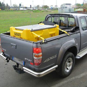 Carrytank 330l, Pickup