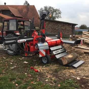 Liegender Holzspalter Krpan CH 32