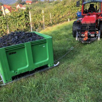SAPI Winde im Einsatz Weinbau