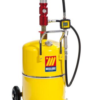 Öl Dispenser 65l mit Digitalanzeige